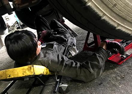 自動車整備担当 手嶋智彦(平成28年4月入社)